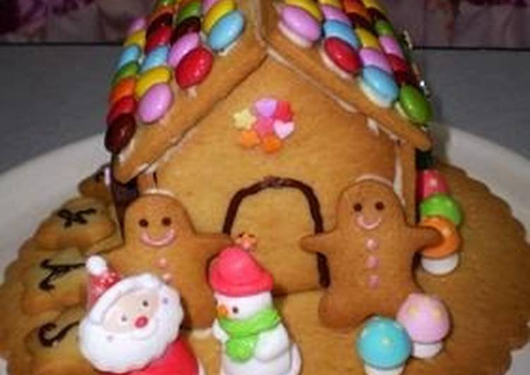 Cookie House For Christmas Recipe By Cookpad Japan Cookpad