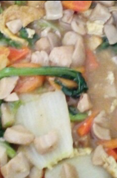 resep masakan chap chaaicap cai indonesian chinese stir fry mixed vegetables