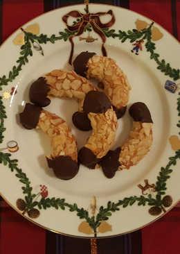 Mini Almond Crescents
