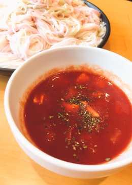 Tomato somen (capellini)