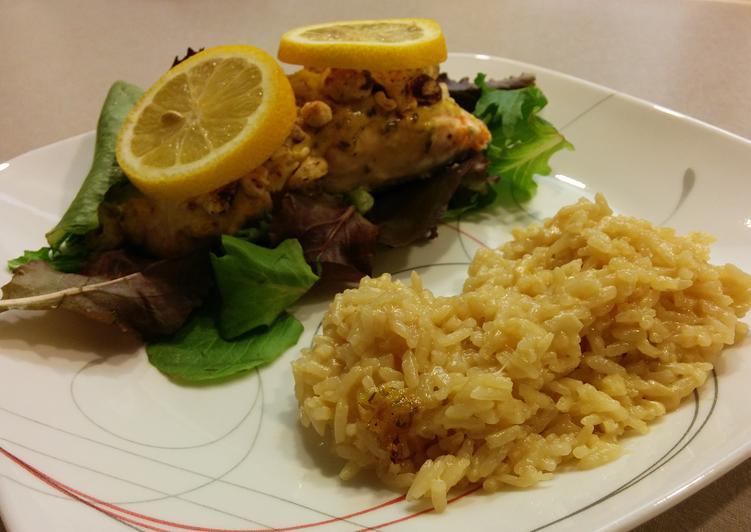 Hazelnut-Crusted Salmon Recipe by BoredOfTheInternet - Cookpad