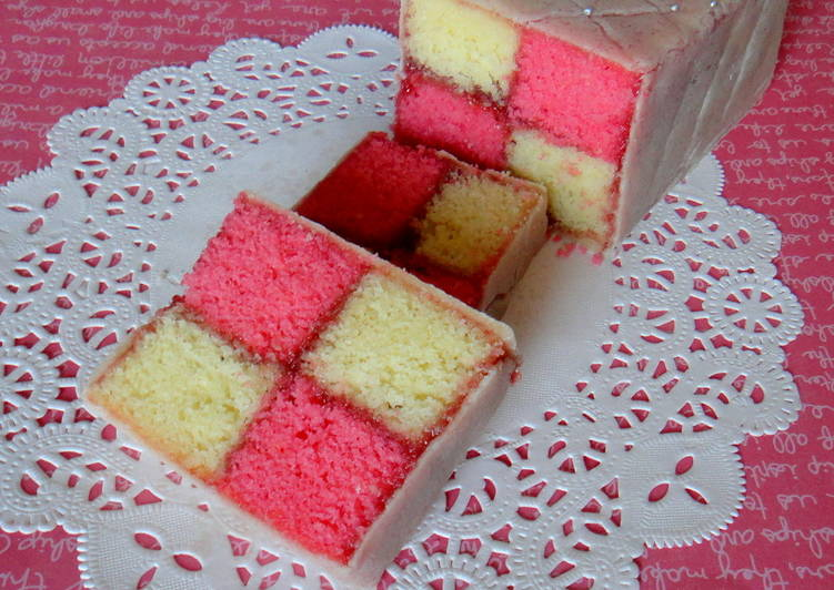 Traditional Battenberg Cake