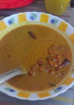 Varutharacha Kadala curry / Brown Chickpeas / Black Chana