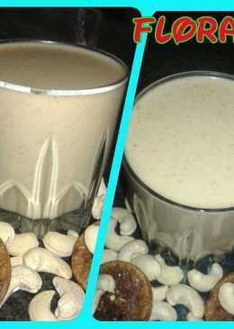 Kaju anjeer milk shake