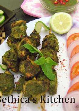 Ramadan Special - Chicken Hariyali Tikka