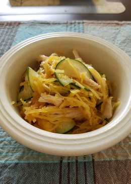 Cucumber and Spaghetti Squash Salad