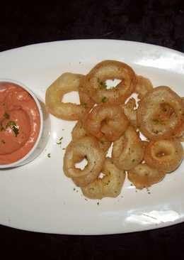 Easy Squid Fry (Calamari)