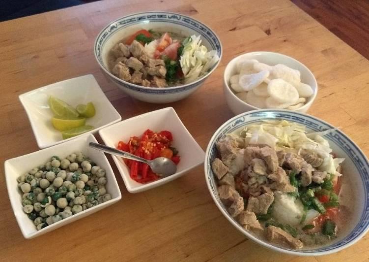 Soto Betawi Recipe By Berlian Utami Cookpad