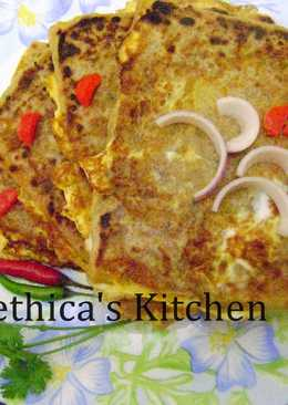 Baida Roti (Stuffed Egg Keema Paratha)