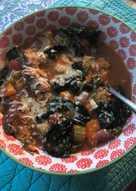 Ribollita: white bean, tomato and cavolo nero soup