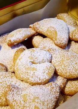 Vanilla kipferl/cookies
