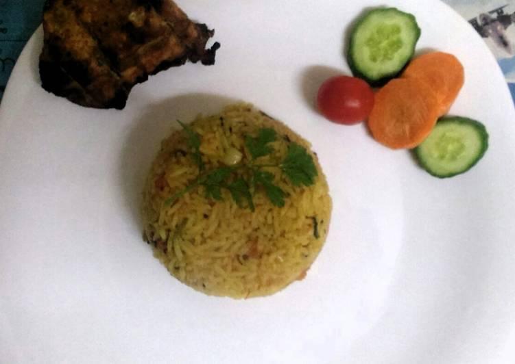 Easy tomato rice recipe by priya cookpad easy tomato rice ccuart Choice Image