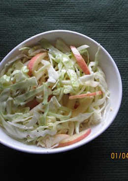 Apple and Cabbage Salad
