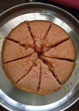 Egg less tuty frooti cake -- without oven