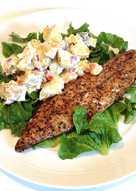 Warm Smoked Mackerel with Potato Salad
