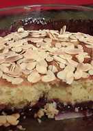 Cherry Bakewell Cake 🍰