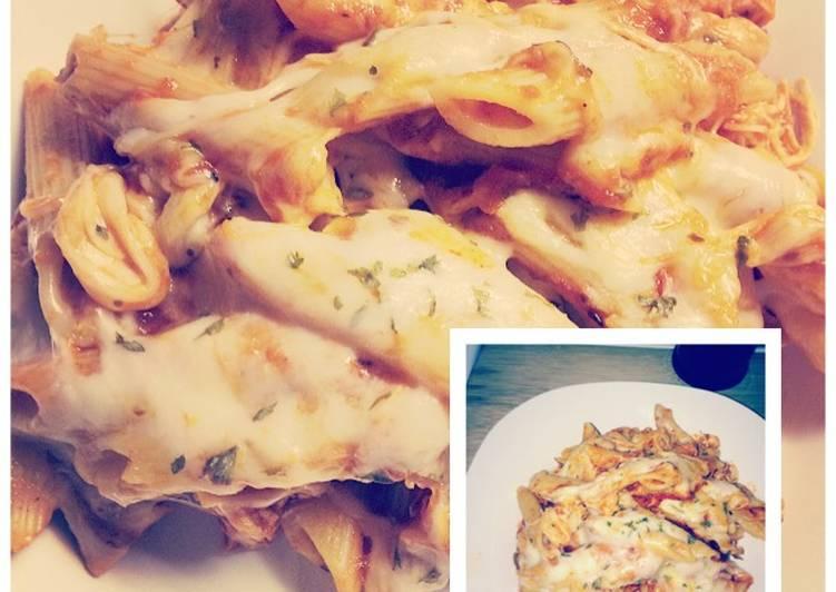 Easy Crockpot Chicken Parmesan Pasta Recipe By Lisa Dunson Cookpad
