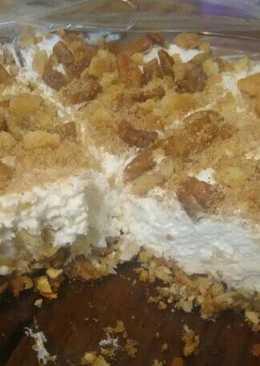 Hazelnut Cheesecake with Pretzel Coconut Pecan Crust