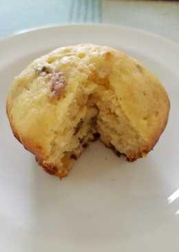 Sakura Cheese Muffins