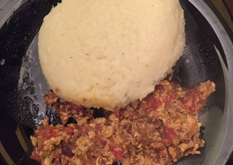 how to cook ugali for 2