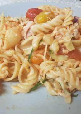 My Mozzerella Salad Pasta 😀