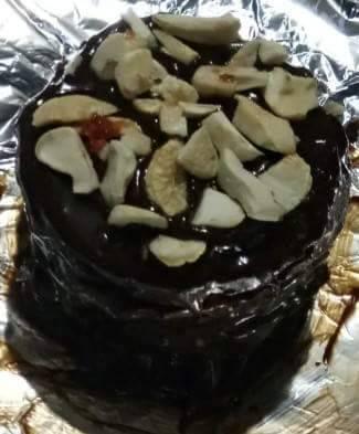 Marie chocolate tower cake
