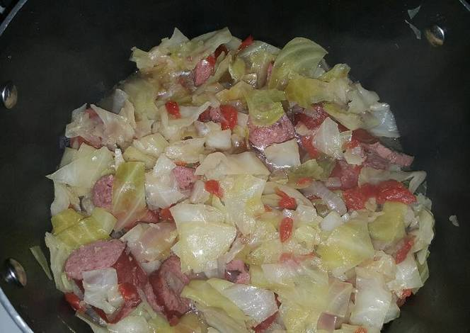 how to make boiled cabbage