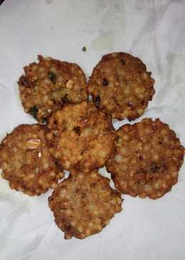 Sabudana Vada #monsoon