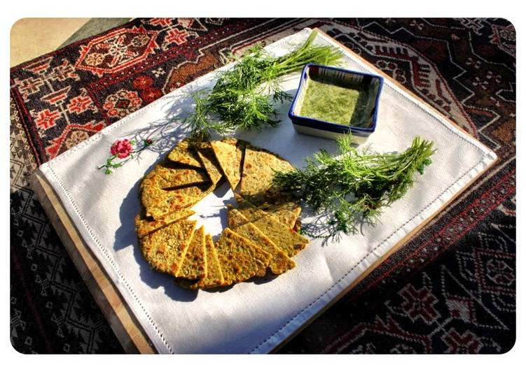 Remembering Anwer Sultana: Baisani Roti with soy and Afghani Chutney