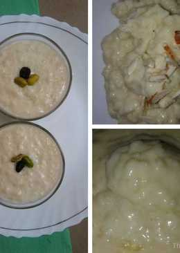 Rice Pudding with Date Palm Jaggery / Bengali Nolen Gurer Payesh