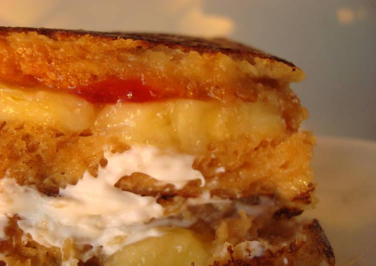 PBJ Stuffed French Toast