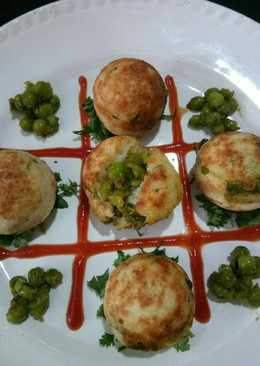 Green Pea Stuff Appam