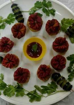 Flower Samosas