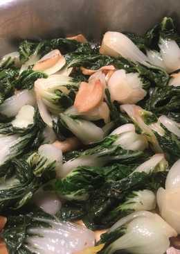 Baby Bok Choy with garlic