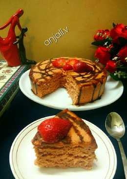 Whole wheat Strawberry Cake