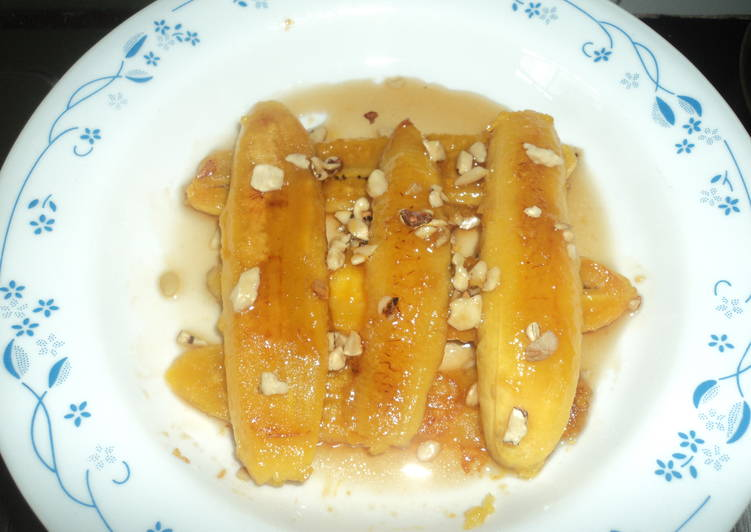 Caramelized Banana