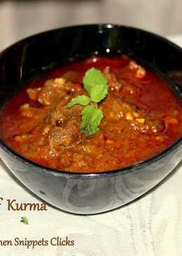 Afghani Beef Kurma
