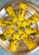 Khandavi (Besan roll)