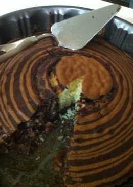 Marble Cake (Zebra Design)