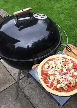 Homemade Braai (BBQ) Pizza