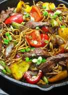 Pepper Steak Noodles