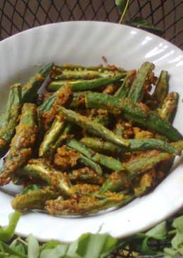 Fried Bhindi (Okra)