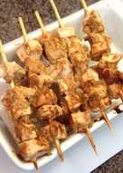 Curried Turkey / Chicken Kababs