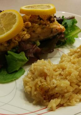 Garlic Parmesan Rice