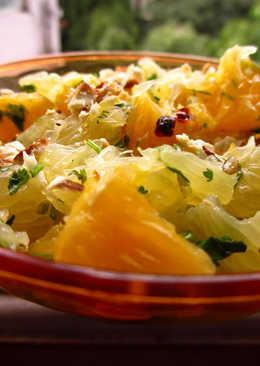 Sweet Lime + Orange Salad and 3 Cheers to Gagan Narang!!