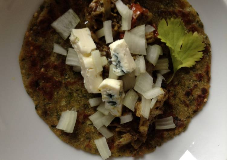 Tandoori Chicken Dhebra Tacos for Super Bowl