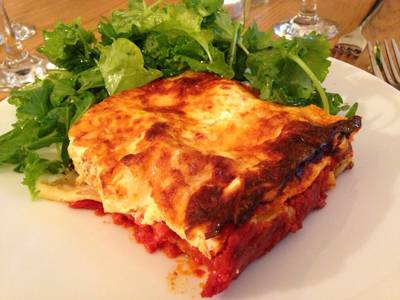 Four Cheese Spinach Cannelloni