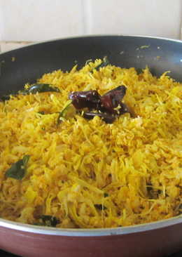 Tender jackfruit curry (Iddichakka thoran)