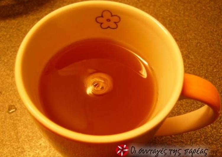 Hot beverage for a cold