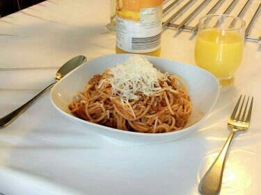 Spaghetti bolonàise